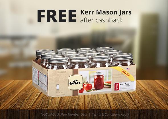 FREE Kerr Regular Mouth Pint J...