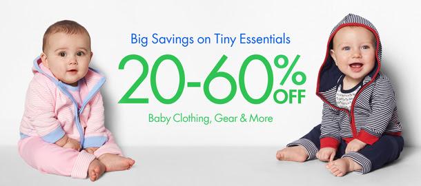 Amazon: 20-60% Off Baby Clothi...