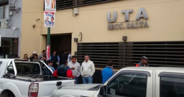 Liberaron a los once choferes de UTA en Salta