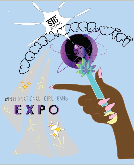 International Girl Gang Expo poster
