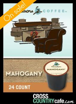 Caribou Mahogany Keurig Kcup coffee sale