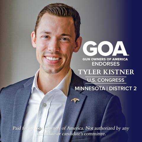 GOA endorses Tyler Kistner