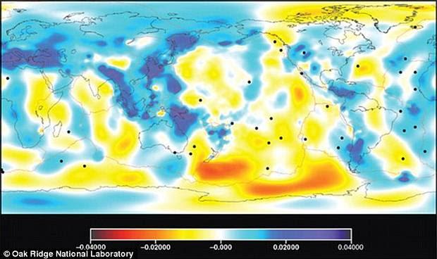 intratierra3 - Un vistazo intraterreno: Científicos crean el mapa más preciso del interior de nuestro planeta