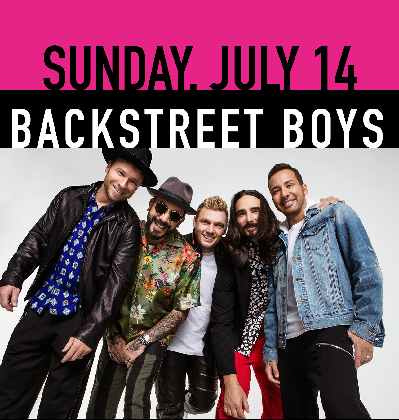 July 14 - Backstreet Boys