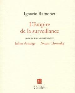 El imperio de la vigilancia, de Ignacio Ramonet.