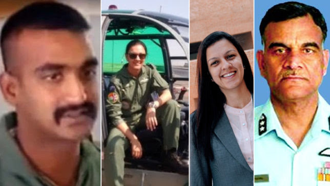Image result for Wing Commander Abhinandan Varthaman WIFE