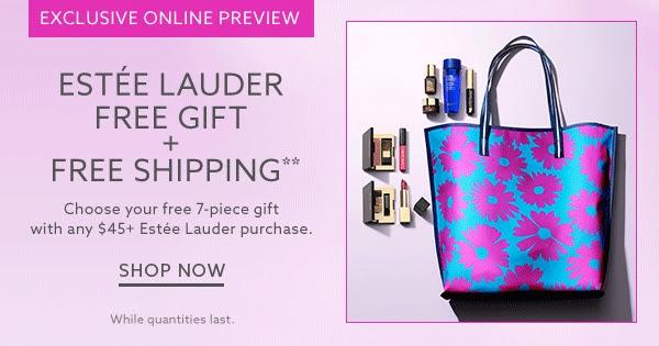Receive a free 7-piece bonus gift with your $45 Estée Lauder purchase