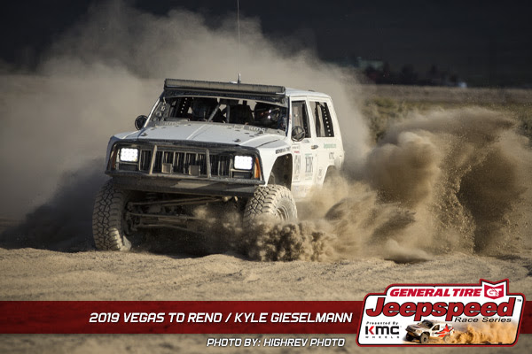 Kyle Gieselmann, Jeepspeed, Vegas To Reno, General Tire, KMC Wheels