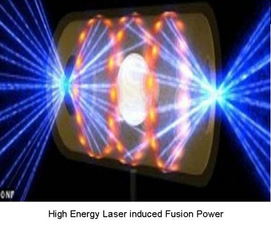 Laser induced fusion power