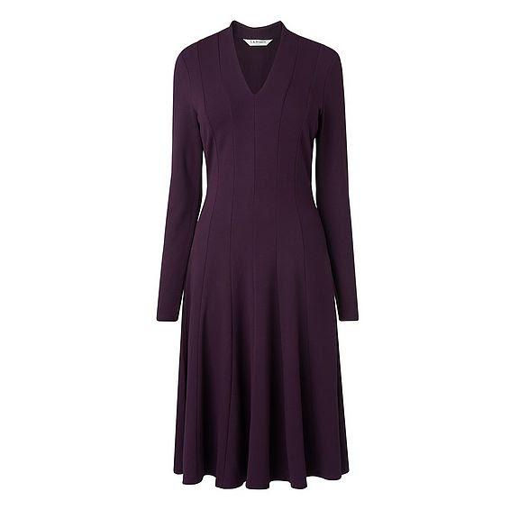 Aviana Purple Dress