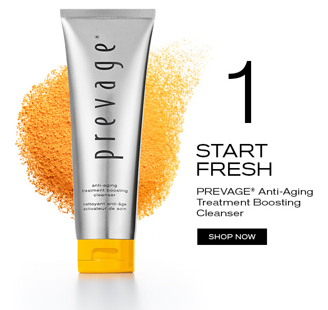 1 START FRESH. PREVAGE® Anti-Aging Treatment Boosting Cleanser. SHOP NOW