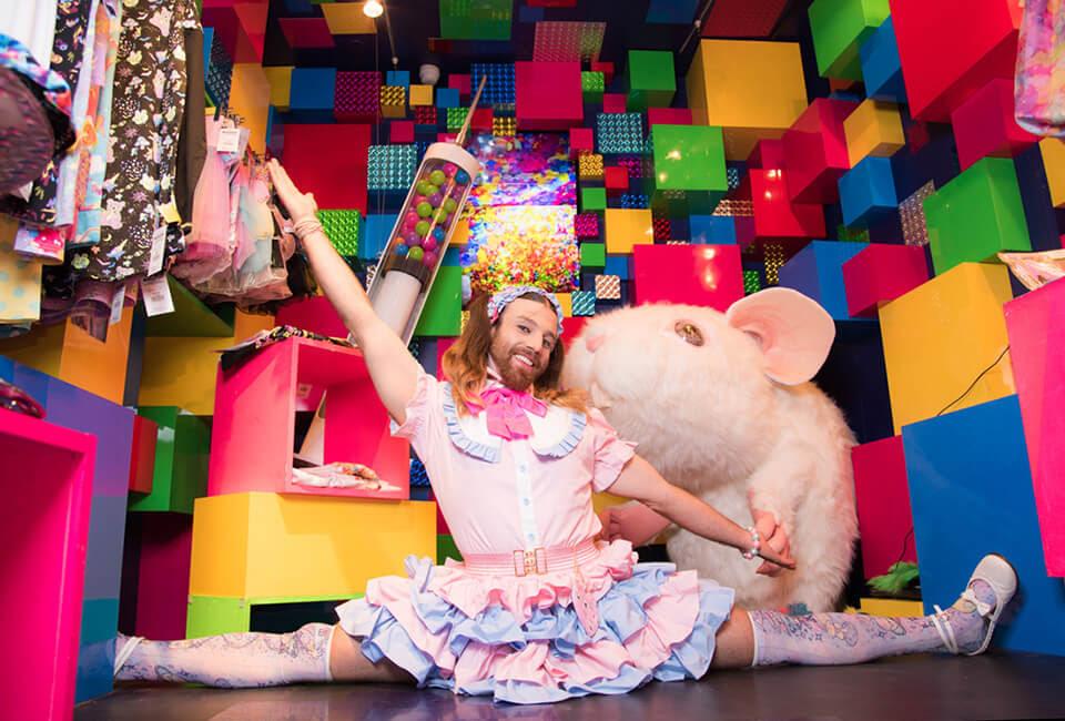 El show de Ladybeard aterriza por primera vez en Japan Weekend Barcelona