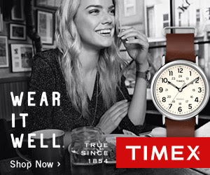 Timex 20% off site wide