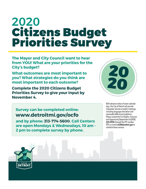 Budget Survey 2020