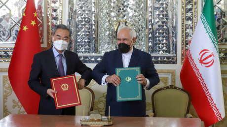 Irán y China firman un acuerdo de cooperación por 25 años en política, economía y defensa, en medio de la presión de sanciones de EE.UU.