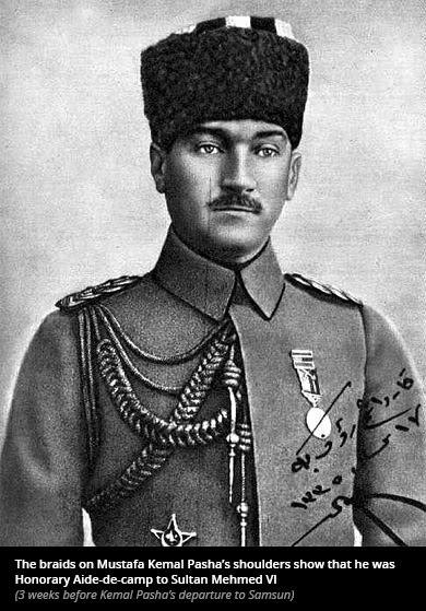 Atatürk was ordered by the Sultan to head Turkish War of Independence, document shows