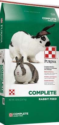 Photo 5: Label, Purina Complete, Rabbit Feed