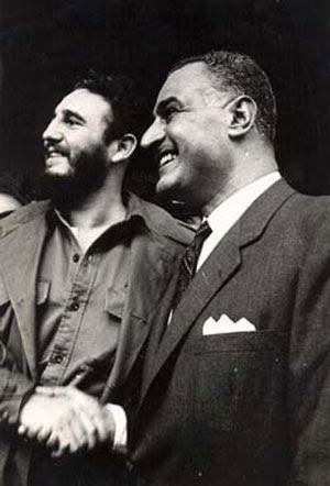 En Nueva York, Fidel se entrevistó con varios jefes de Estados, entre ellos el egipcio Gamal Abdel Nasser, Presidente de la República Arabe Unida