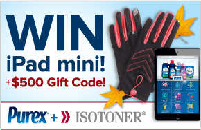 purex and isotoner giveaway MAEGAL