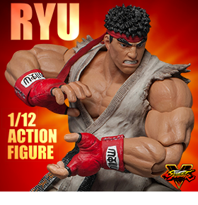 STREET FIGHTER V RYU 1/12 SCALE FIGURE