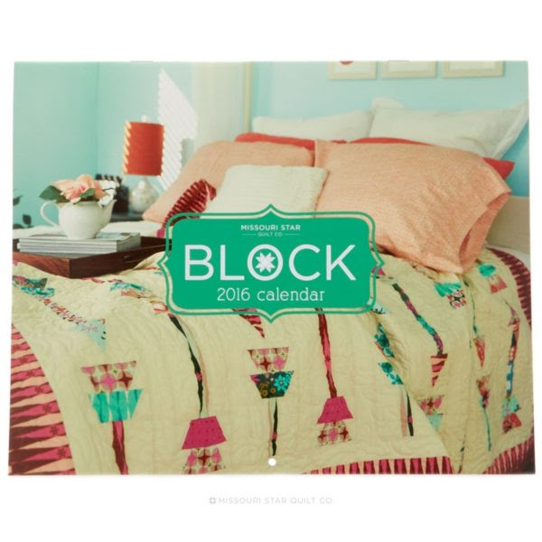 2016 BLOCK Calendar