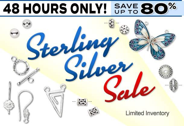 48-Hour Sterling Silver SALE!