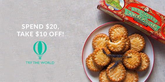 Try the World: Save $10 when y...