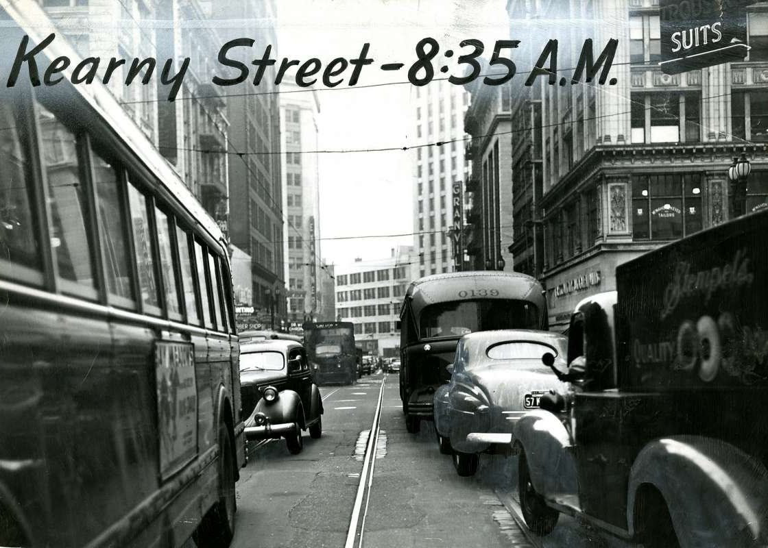 Kearny Street Traffic Jam
