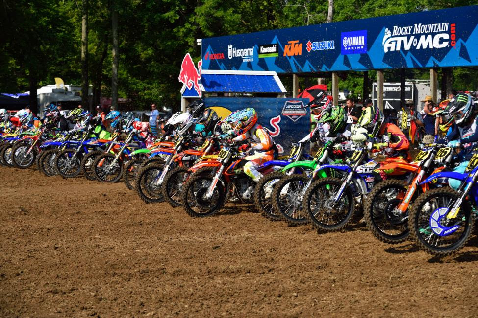 The race to fill gates for the 36th Annual Rocky Mountain ATV/MC AMA Amateur National Motocross Championship, presented by Lucas Oil, begins this weekend across three different regions.