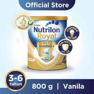 Nutrilon Royal ProNutra 4 Vanila Susu Formula Tin [800 g]