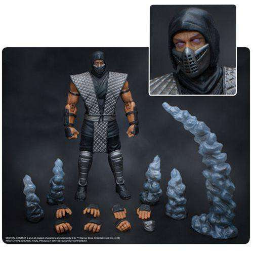 Image of Mortal Kombat Smoke 1:12 Scale Action Figure - NYCC 2018 Exclusive