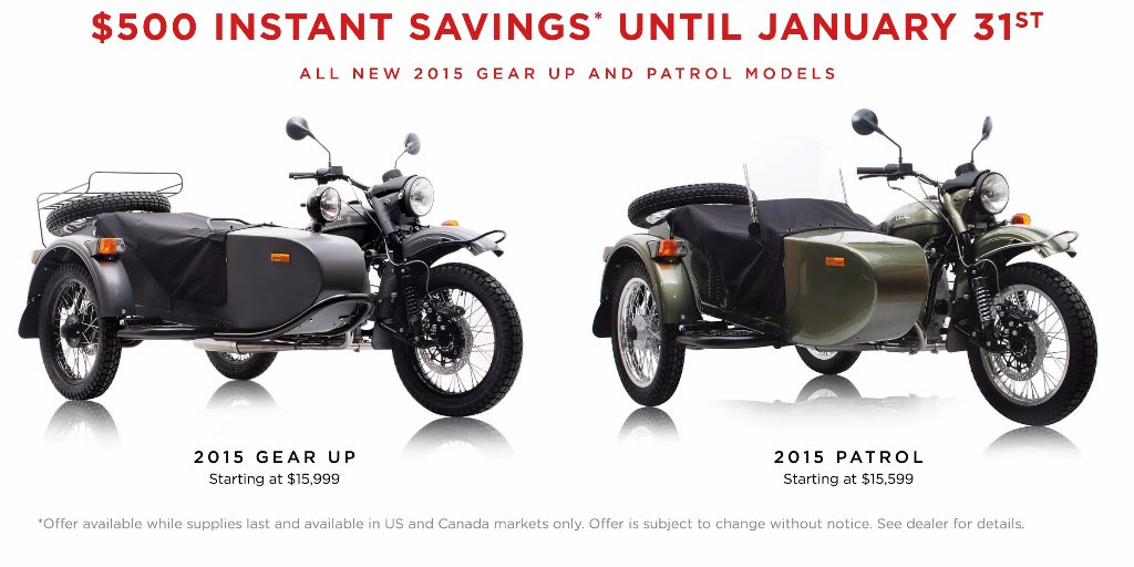 Get $500 in instant savings until January 31st.