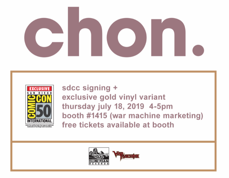 Something to Muse About: CHON Announce San Diego Comic-Con