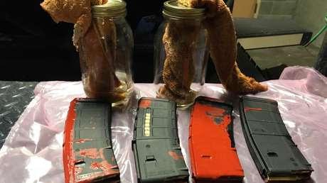 La Policía de Portland descubre una bolsa con cócteles molotov y cargadores de rifle cerca de una zona de protestas