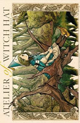 Atelier of Witch Hat Coloring Book (Rústica 48 pp)