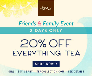 tea collection 20% off