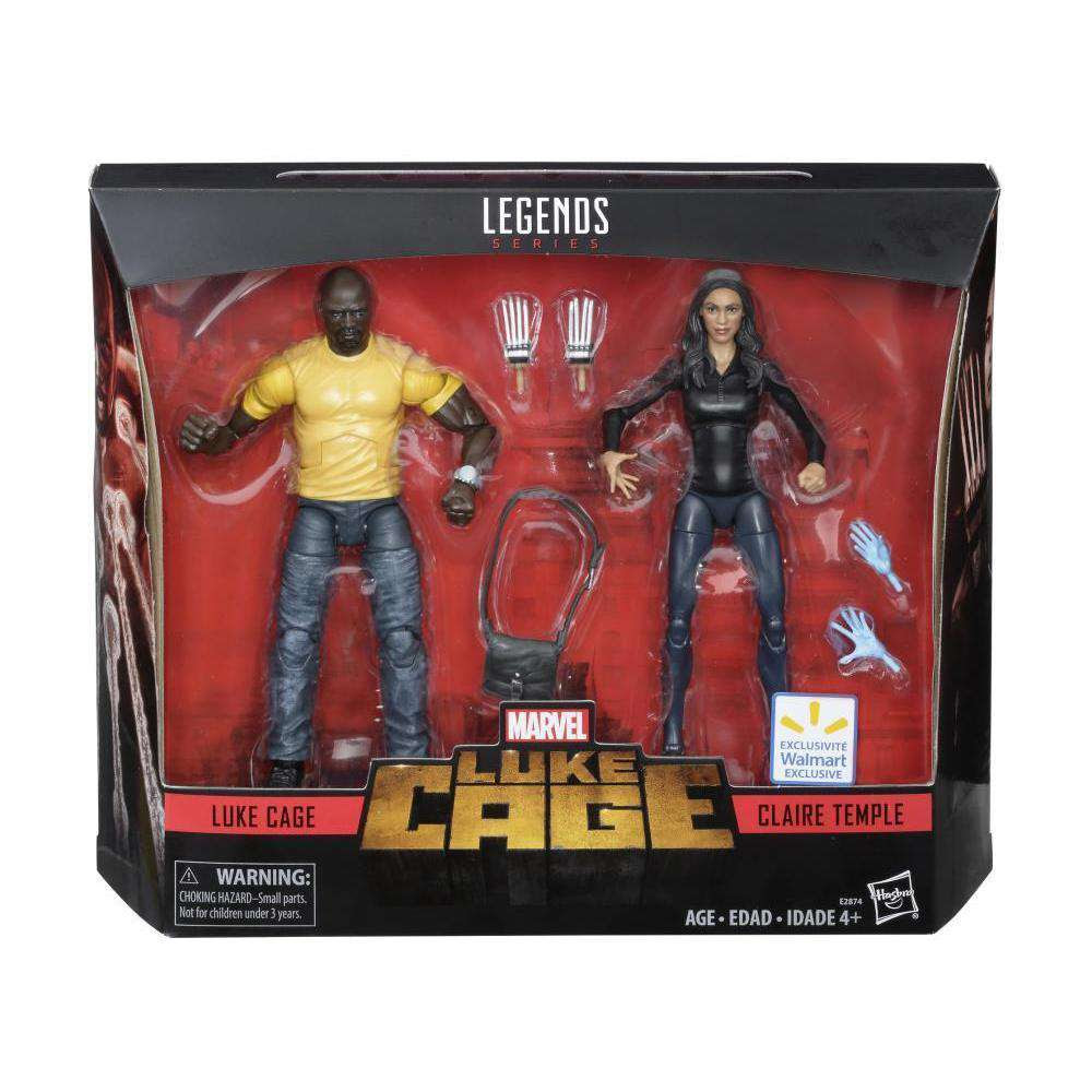 Image of Luke Cage Marvel Legends Luke Cage & Claire Temple Two-Pack