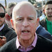 Gov. Jerry Brown of California addressed concerns about the state's drought earlier this month.