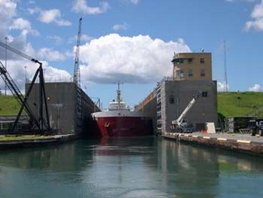 St Lawrence Seaway Locks -4