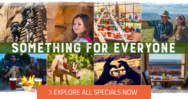 SOMETHING FOR EVERYONE - EXPLORE ALL SPECIALS NOW