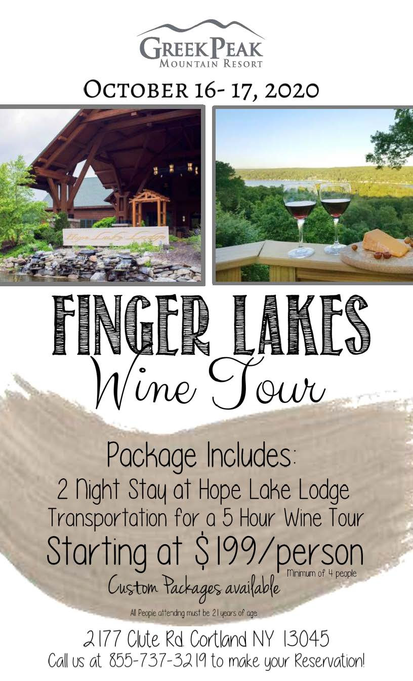 Finger Lakes Wine Tour Logo