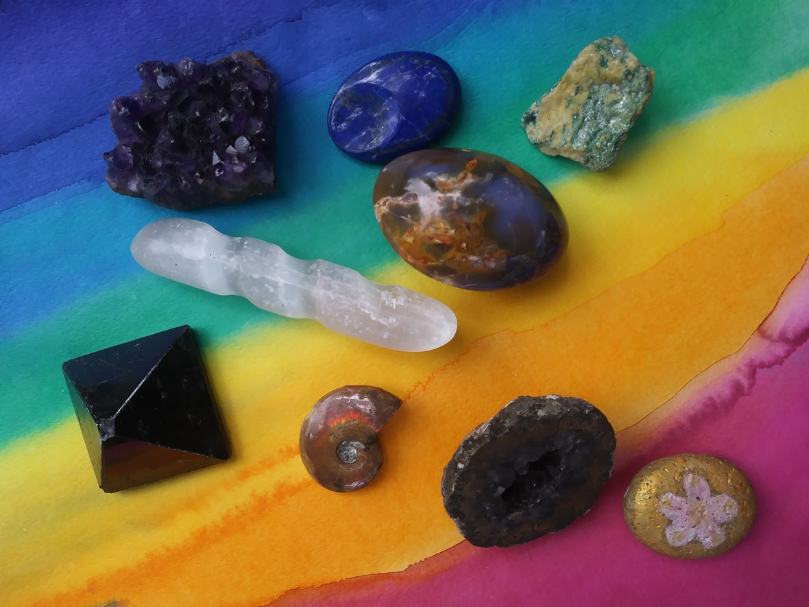 32 Crystal harmonizing enargy