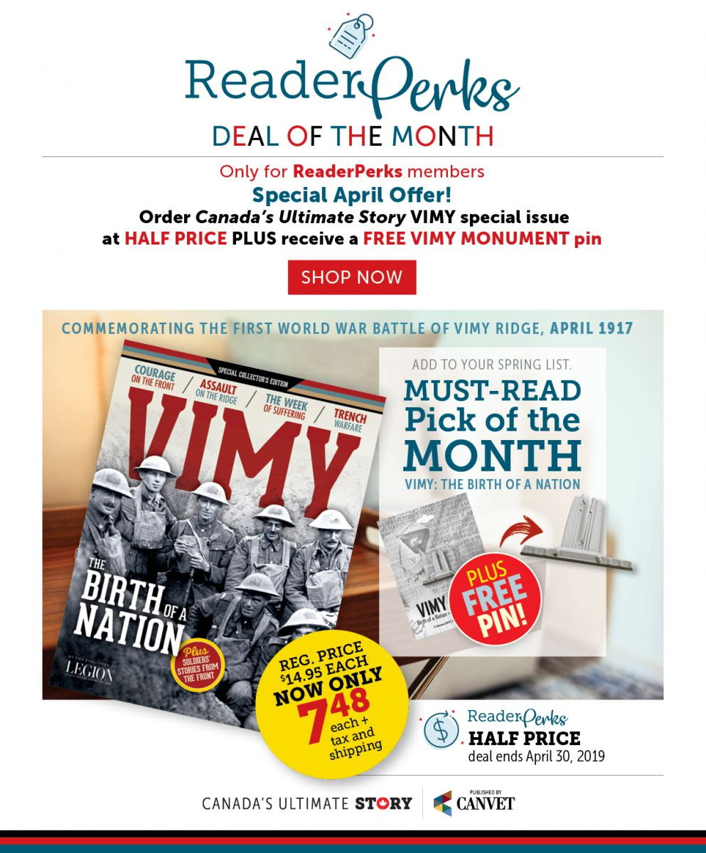 ReaderPerks | Deal of the Month for April