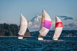 J/35 sailing Puget Sound