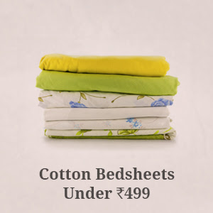 Cotton Bedsheets under Rs.499