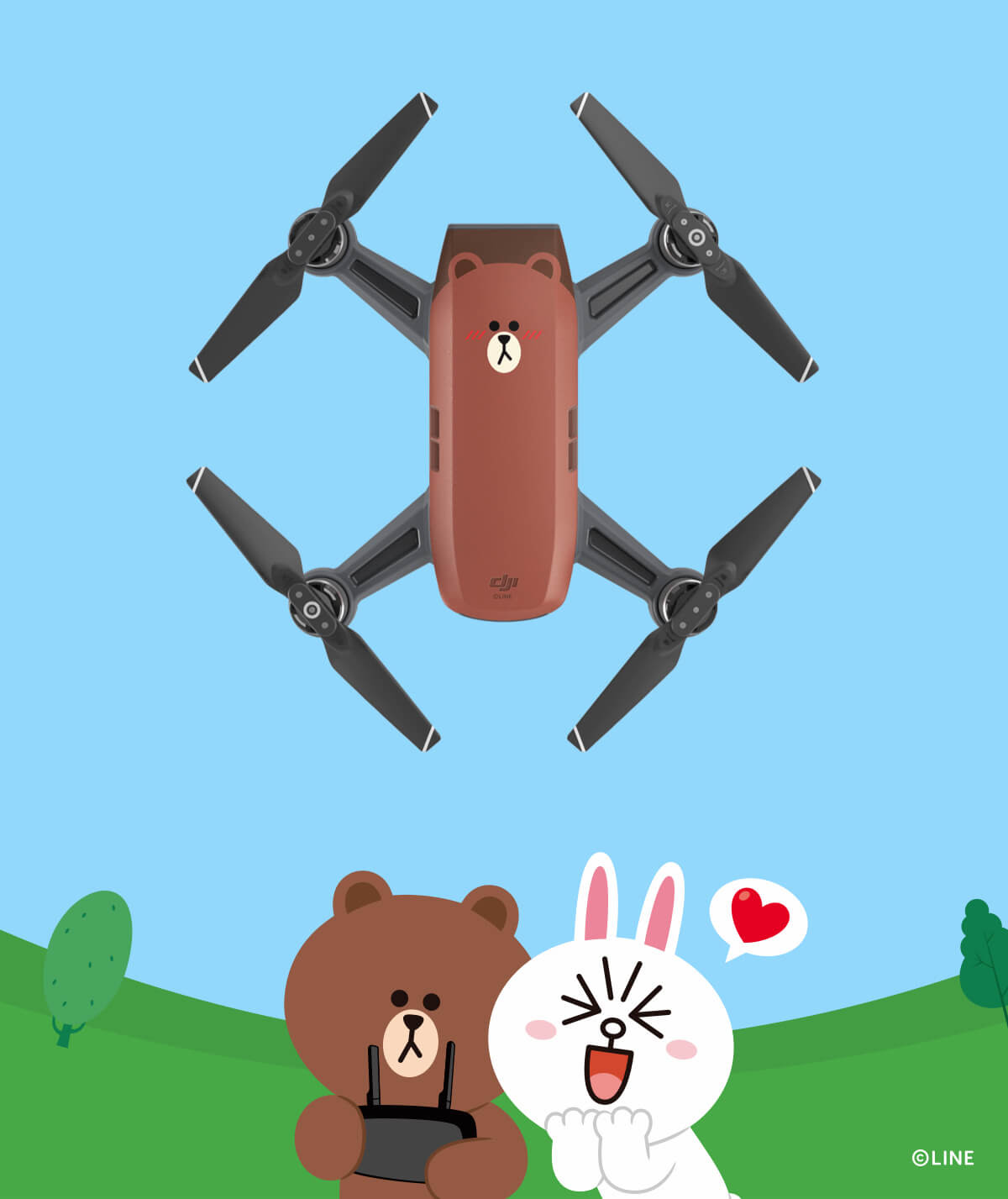LINE FRIENDS (BROWN) | Spark Seize the Moment with LINE FRIENDS