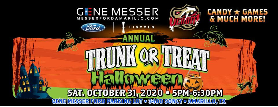 Amarillo Venom Football Trunk or Treat @ Gene Messes Ford Parking Lot