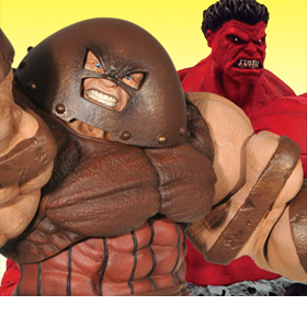MARVEL SELECT JUGGERNAUT & RED HULK