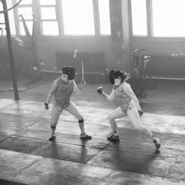 fencing or duel