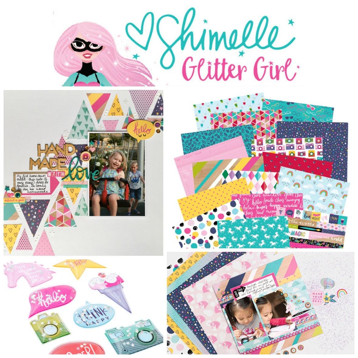 PicMonkey Collage glitter girl